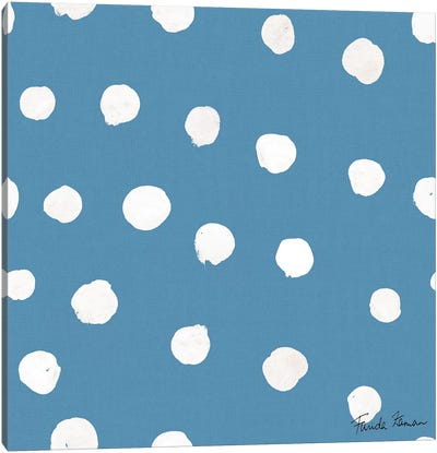 Whale Tale Pattern IIC Canvas Art Print