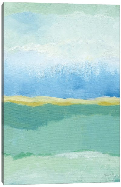 Coastal Bliss I Canvas Art Print