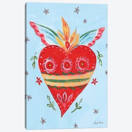 Frida's Heart II Canvas Print #FZA64} by Farida Zaman Canvas Art