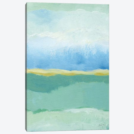 Coastal Bliss I Crop Canvas Print #FZA76} by Farida Zaman Canvas Print