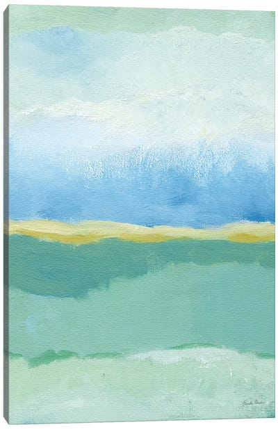 Coastal Bliss I Crop Canvas Art Print