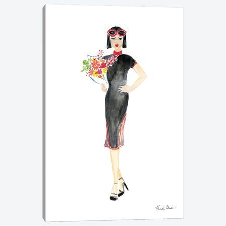 International Girls II Canvas Print #FZA7} by Farida Zaman Canvas Art Print