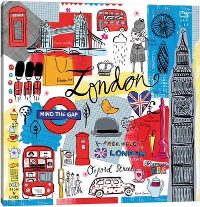 Global Travel III Canvas Art Print