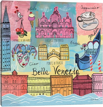Global Travel IV Canvas Art Print