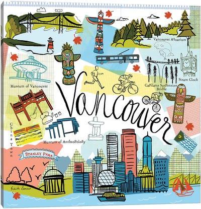 Global Travel V Canvas Art Print