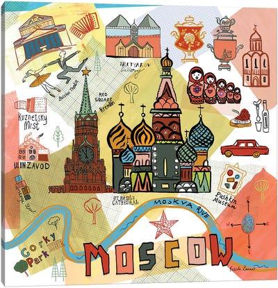 Global Travel VI Canvas Art Print
