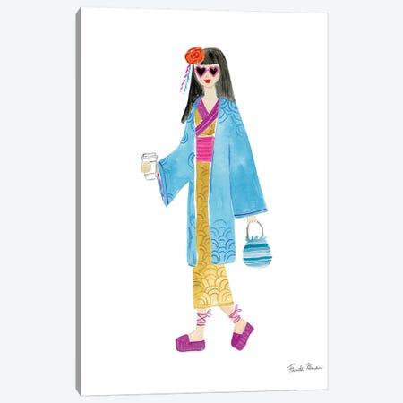 International Girls IV Canvas Print #FZA9} by Farida Zaman Canvas Art