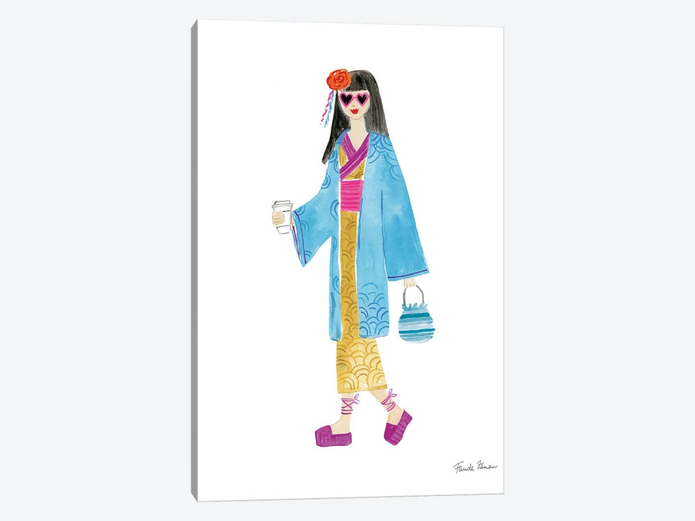 International Girls IV by Farida Zaman 1-piece Canvas Art
