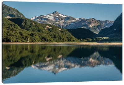 USA, Alaska, Katmai National Park. Landscape in Geographic Harbor of Amalik Bay. Canvas Art Print