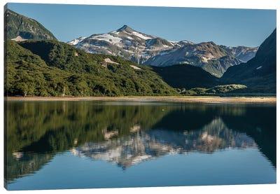 USA, Alaska, Katmai National Park. Landscape in Geographic Harbor of Amalik Bay. Canvas Art Print