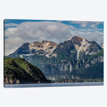 USA, Alaska, Katmai National Park. Scenic landscape in Amalik Bay Canvas Print #FZU8} by Frank Zurey Canvas Print