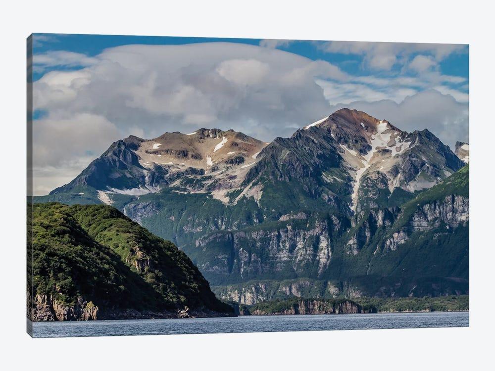 USA, Alaska, Katmai National Park. Scenic landscape in Amalik Bay by Frank Zurey 1-piece Canvas Print