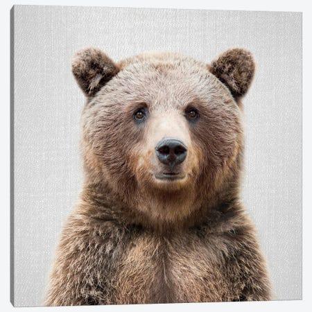 Bear 2 Canvas Print #GAD13} by Gal Design Canvas Art Print