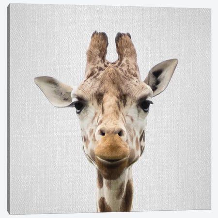Giraffe I Canvas Print #GAD29} by Gal Design Canvas Art