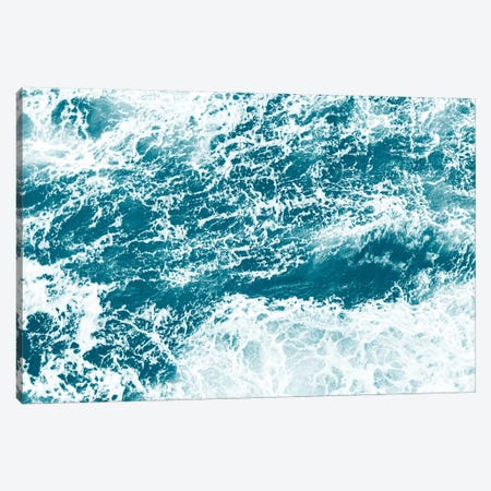Ocean Splash I Canvas Print #GAD42} by Gal Design Canvas Artwork