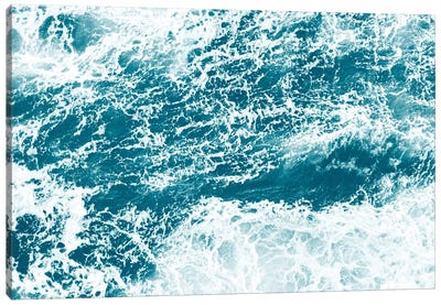 Ocean Splash I Canvas Art Print