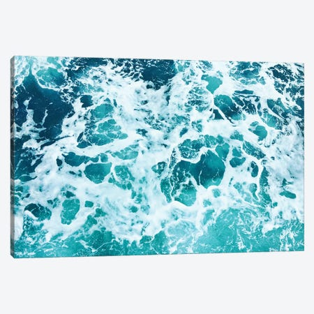 Ocean Splash IV Canvas Print #GAD43} by Gal Design Canvas Wall Art