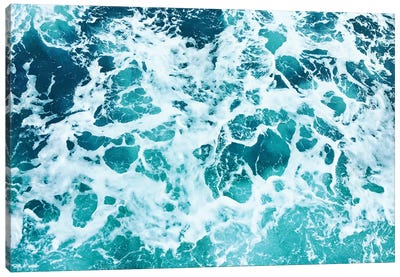 Ocean Splash IV Canvas Art Print