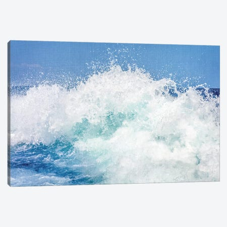 Ocean Wave Canvas Print #GAD44} by Gal Design Canvas Print