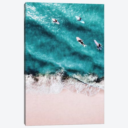 Pink Sand Canvas Print #GAD48} by Gal Design Canvas Wall Art