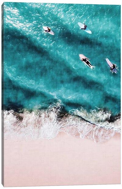 Pink Sand Canvas Art Print
