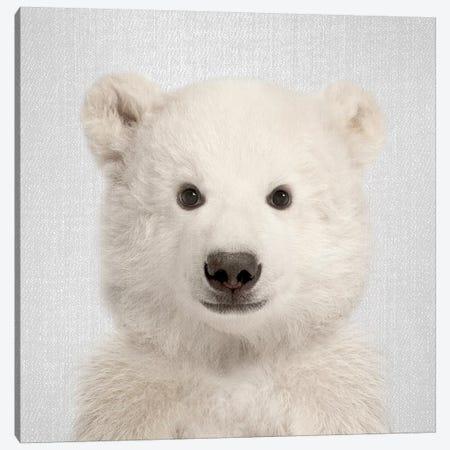 Polar Bear Canvas Print #GAD49} by Gal Design Canvas Artwork
