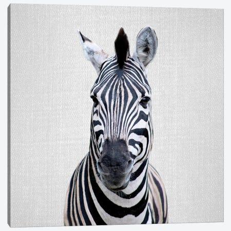 Zebra I Canvas Print #GAD57} by Gal Design Canvas Artwork