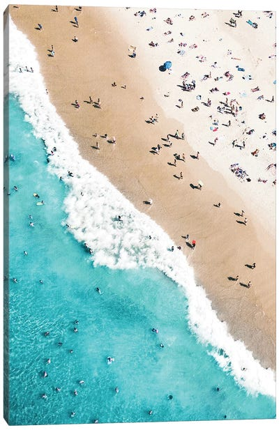 Beach Mood II Canvas Art Print