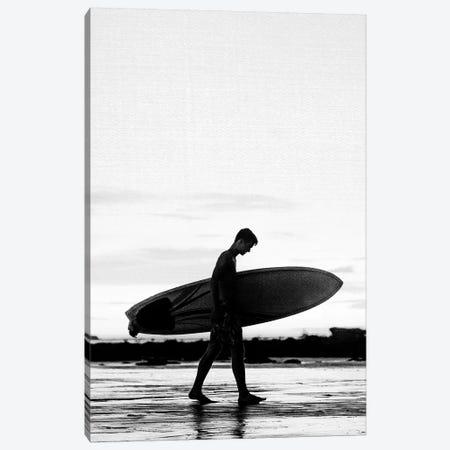 Surf Boy Canvas Print #GAD63} by Gal Design Canvas Wall Art