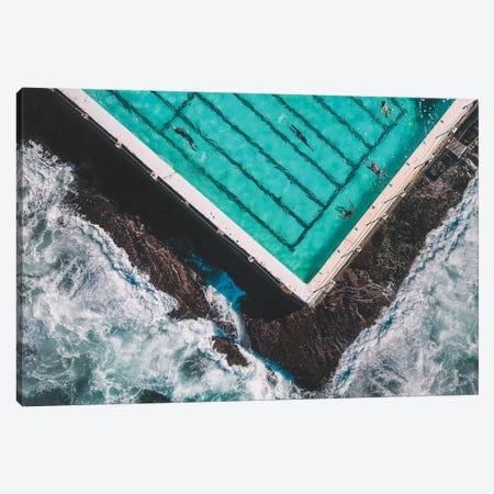 The Pool Canvas Print #GAD65} by Gal Design Canvas Print