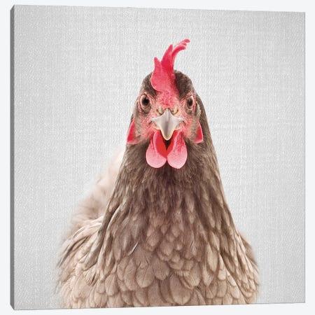 Chicken Canvas Print #GAD71} by Gal Design Canvas Art Print