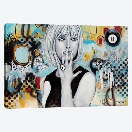 Decisive Indicision Canvas Print #GAM10} by Tara Gamel Canvas Artwork
