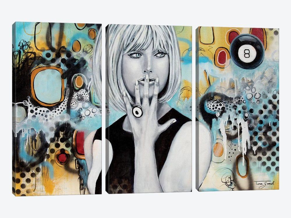 Decisive Indicision by Tara Gamel 3-piece Canvas Art Print
