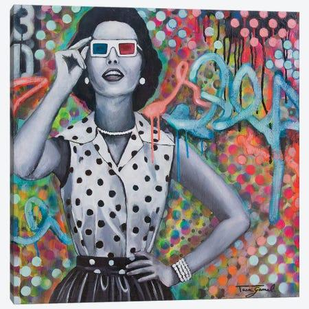 Distorted Perception Canvas Print #GAM11} by Tara Gamel Canvas Wall Art