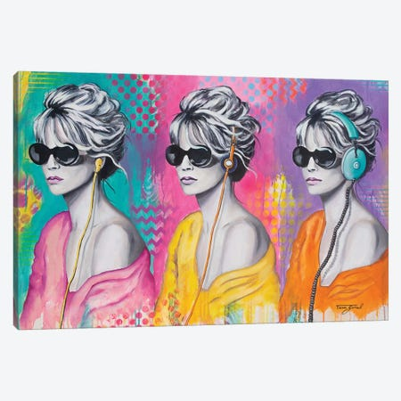 Evolution Of Isolation Canvas Print #GAM15} by Tara Gamel Canvas Print