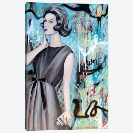 I Arted  Canvas Print #GAM18} by Tara Gamel Canvas Wall Art