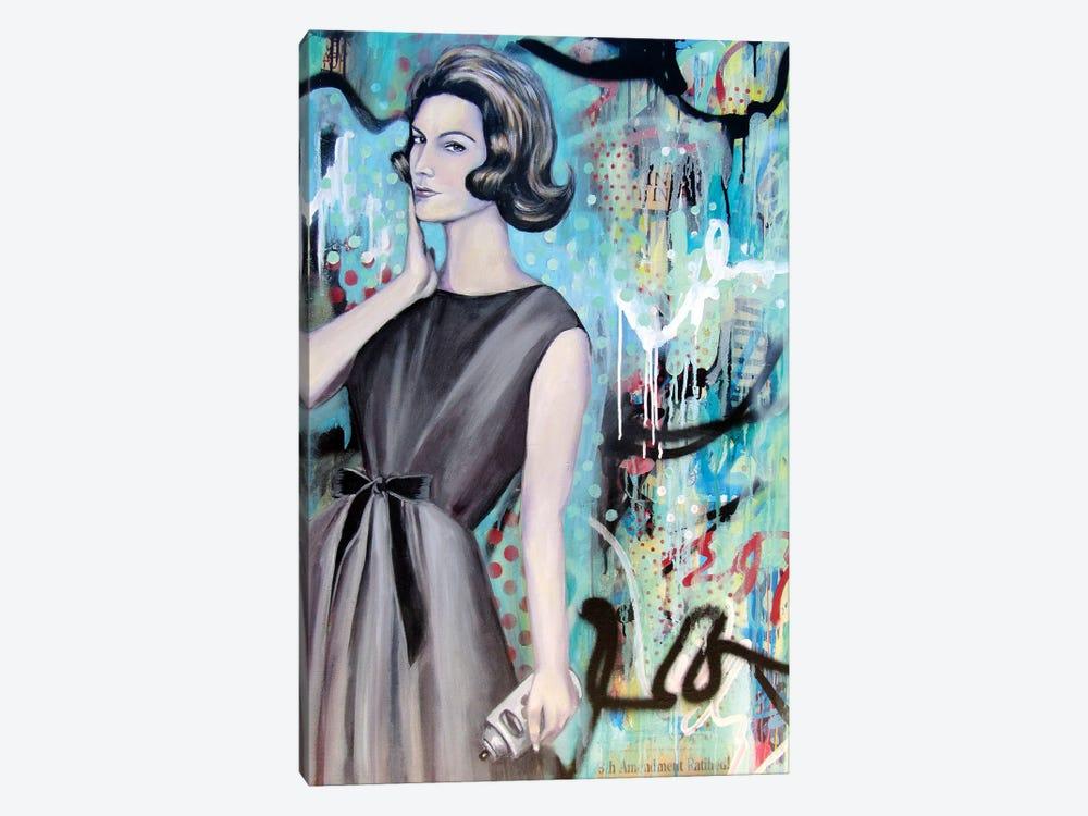 I Arted  by Tara Gamel 1-piece Canvas Art Print