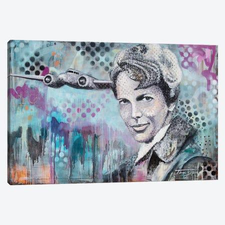 Actions Speak Louder Canvas Print #GAM1} by Tara Gamel Canvas Wall Art