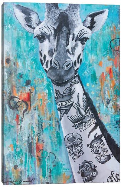 Livin La Vegan Loca Canvas Art Print