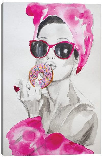 Pink Temptations  Canvas Art Print