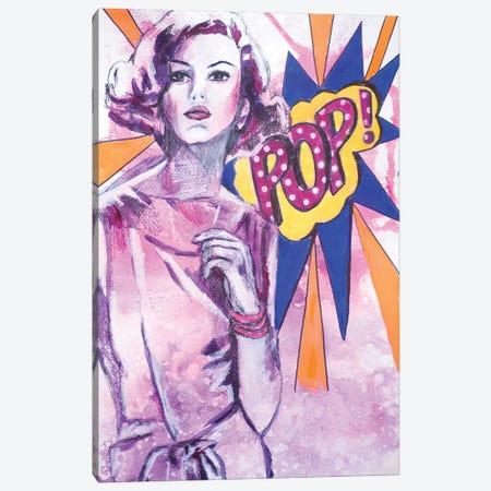 Pop  Canvas Print #GAM26} by Tara Gamel Canvas Artwork