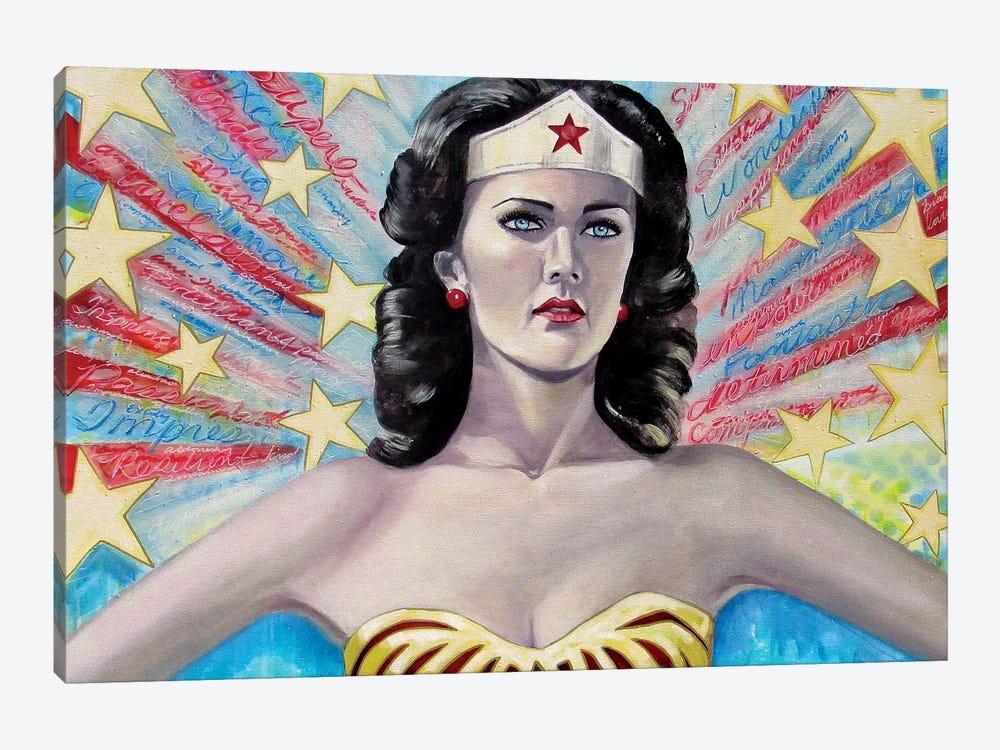 Wonder Words by Tara Gamel 1-piece Canvas Artwork