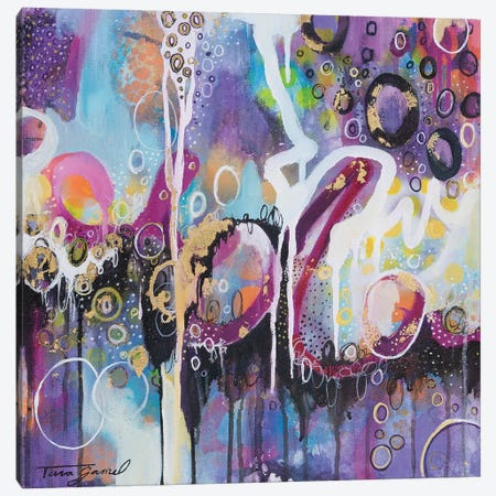 Encompassing Canvas Print #GAM37} by Tara Gamel Art Print