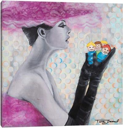 Facebook Friends Canvas Art Print