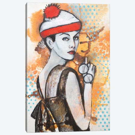 Trying To Find Myself Canvas Print #GAM46} by Tara Gamel Canvas Art