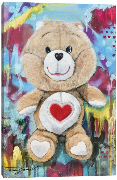 Bearing My Heart Canvas Art Print