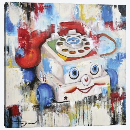 Eye Phone Recall Canvas Print #GAM54} by Tara Gamel Canvas Print