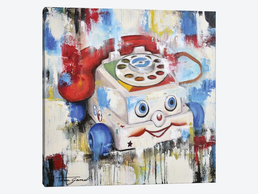 Eye Phone Recall by Tara Gamel 1-piece Art Print