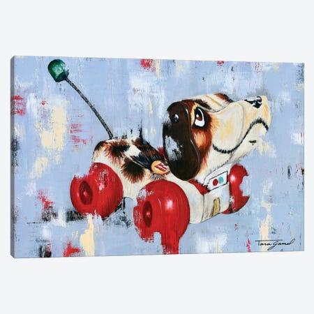 Puppy Love Canvas Print #GAM57} by Tara Gamel Art Print