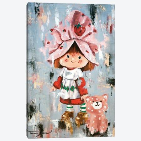 Strawberry Dreams Canvas Print #GAM58} by Tara Gamel Canvas Art